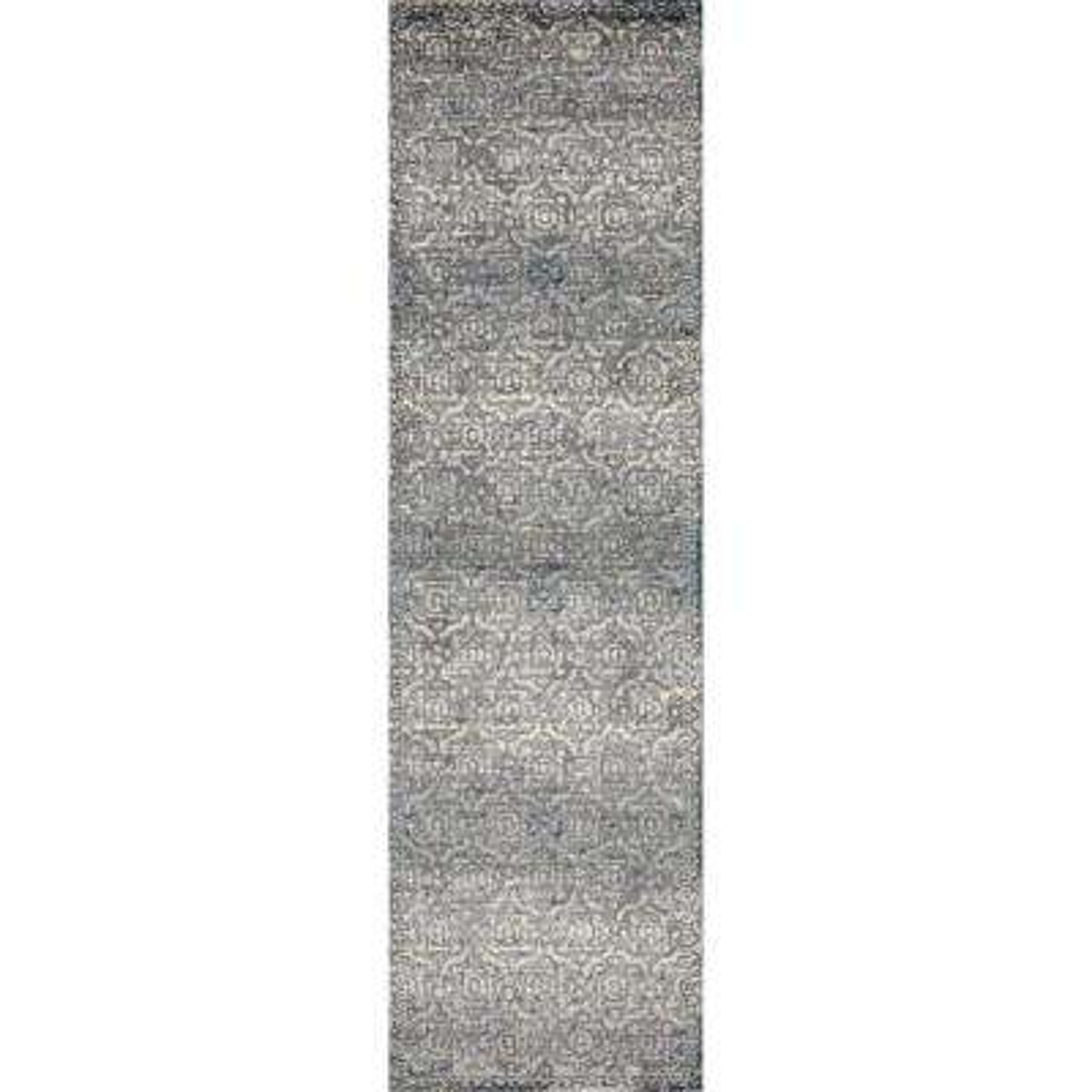 Novi Morocco Gray 2 ft. x 8 ft. Runner Rug