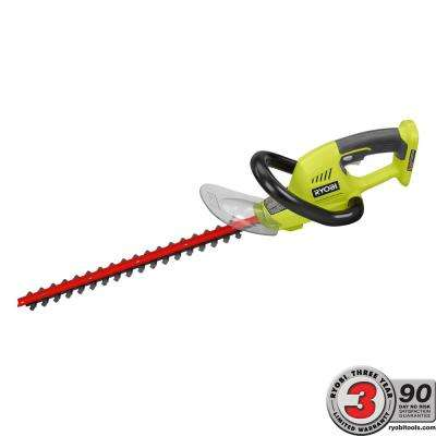 ONE+ 18 in. 18-Volt Lithium-Ion Cordless Hedge Trimmer - Battery and Charger Not Included