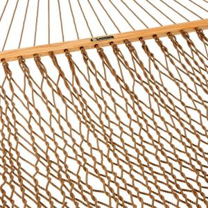 Pawleys Island 13 ft. Presidential DuraCord Rope Hammock Antique Brown by Pawleys Island