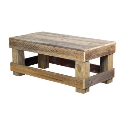 Reclaimed Barnwood Natural Coffee Table