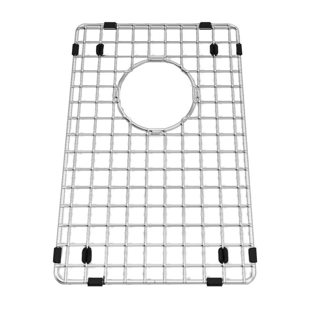 american standard prevoir 10 in  x 15 in  kitchen sink grid in stainless steel