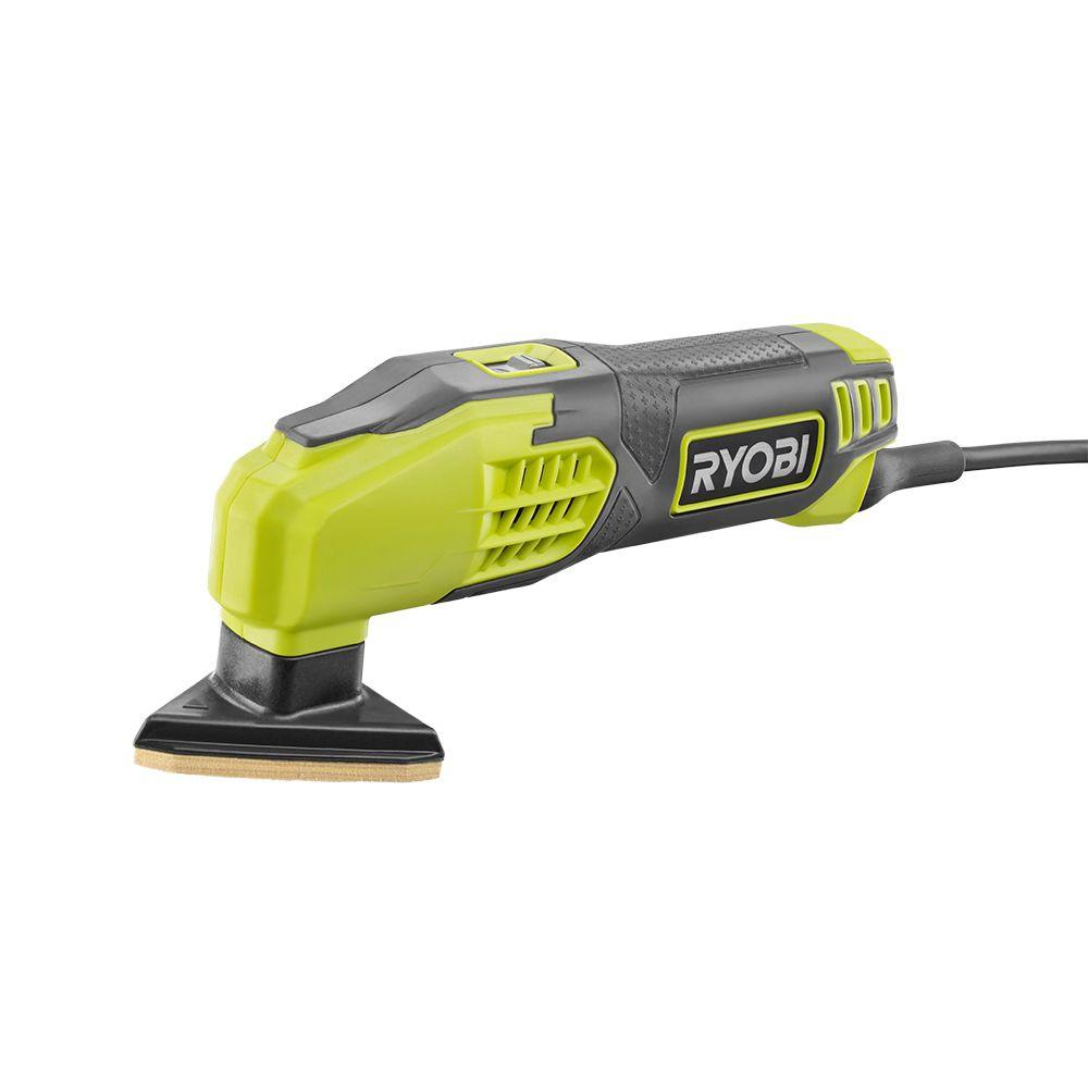 Ryobi 04 & Corded 2 7 8 In Detail Sander Ds1200 The