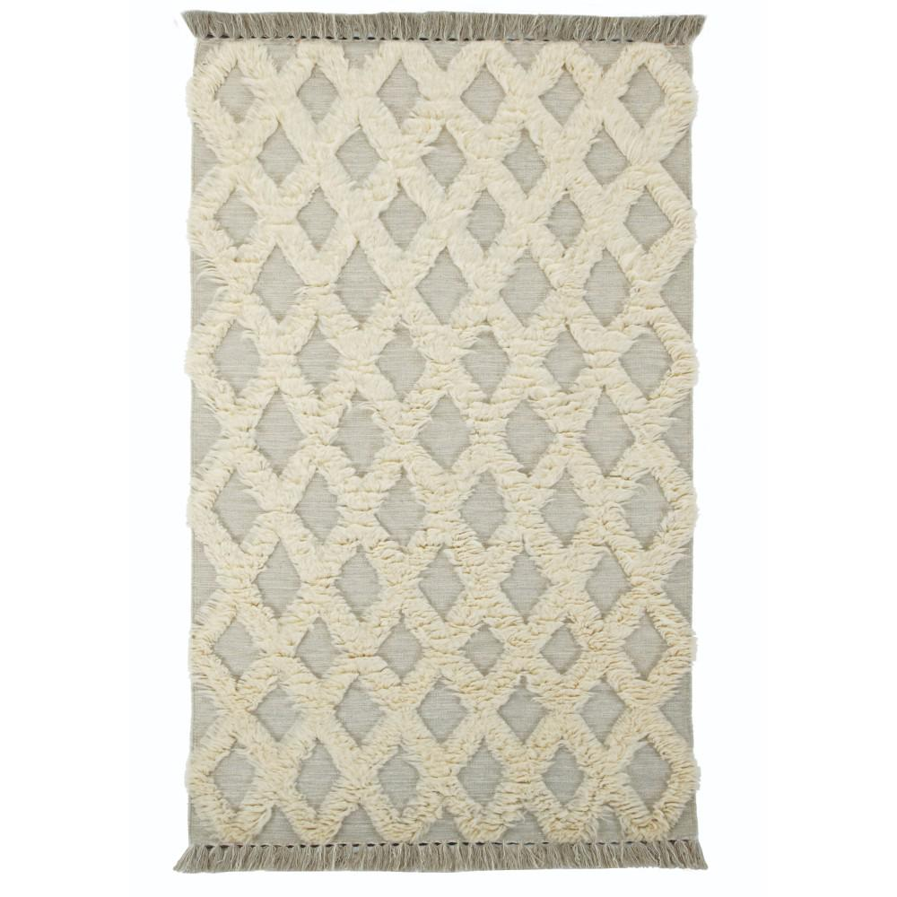 Dades Silver 4 ft. x 6 ft. Area Rug