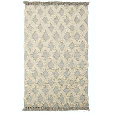 Dades Silver 8 ft. x 10 ft. Area Rug