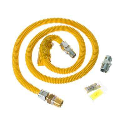 5 ft. Gas Dryer Connector Kit with Auto Shut Off