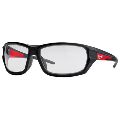 Performance Safety Glasses with Clear Fog-Free Lenses