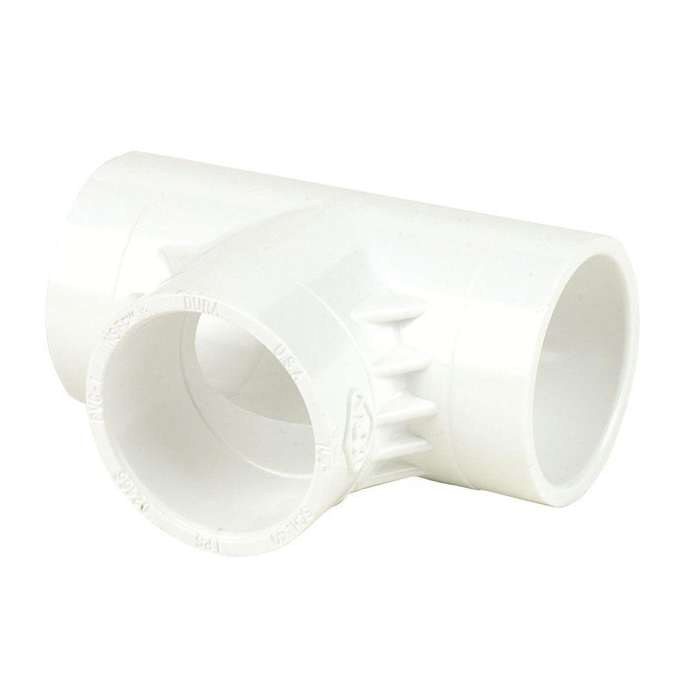 Dura Corp 1 in. Schedule 40 PVC Tee