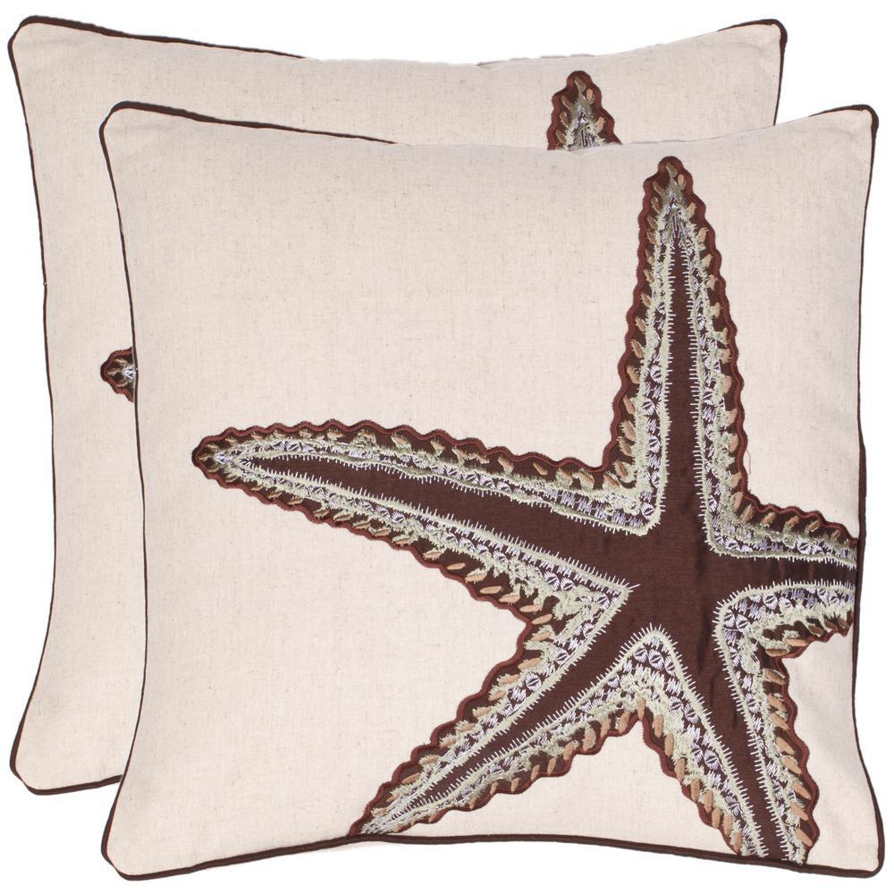 Lucky Star Coastal Pillow (2-Pack)