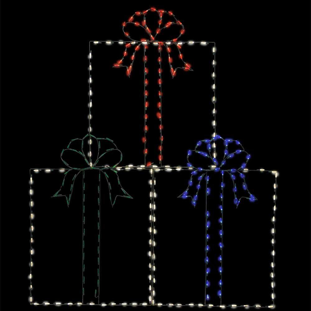 72 in pro line led wire decor presents 96572 mp1 the for Professional outdoor christmas decorations