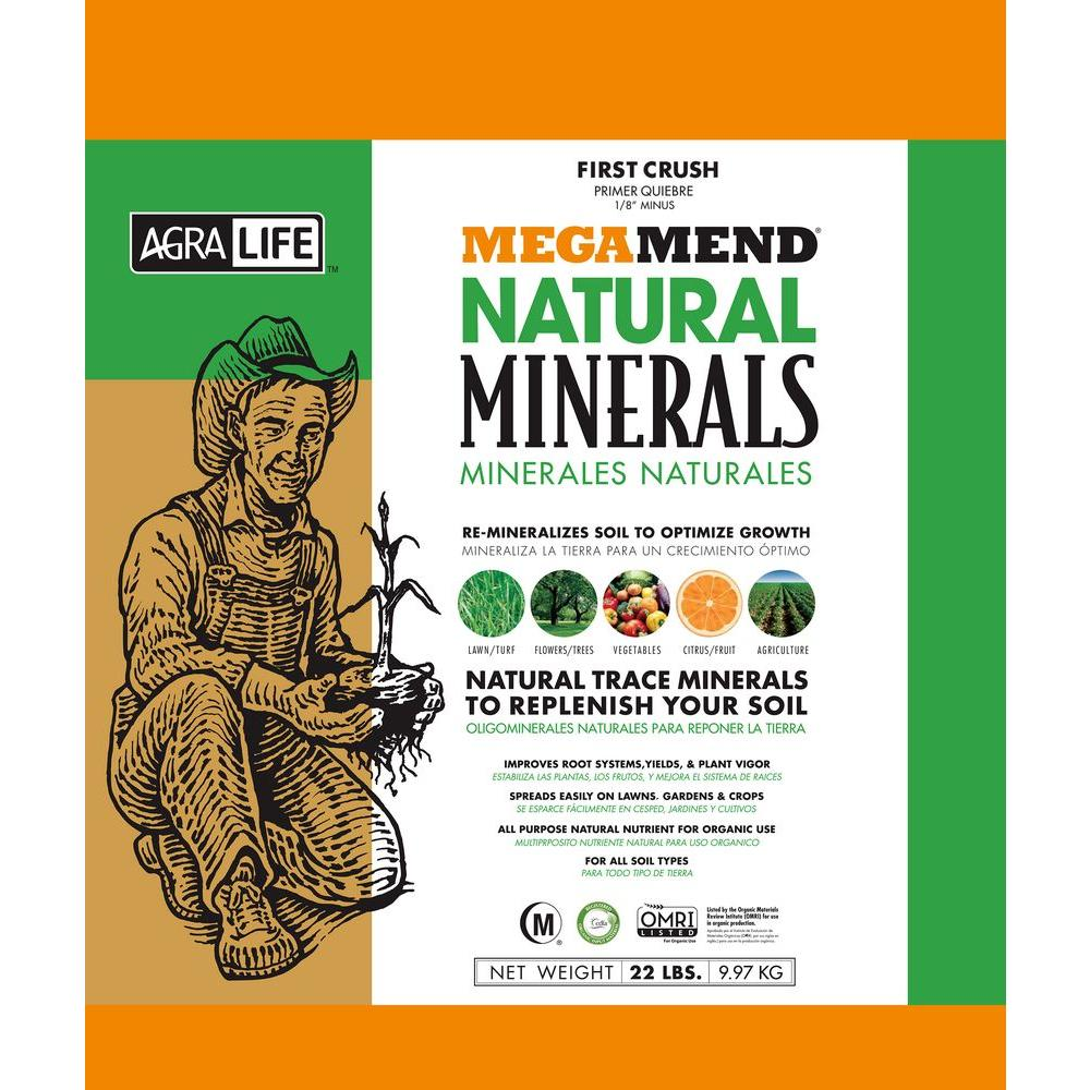 AgraLife MEGAMEND 22 lbs. Organic Micronutrients and Trace Minerals Fertilizer for Plants and Lawn