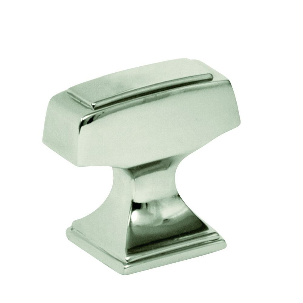 Mulholland 1-1/4 in. (32mm) Polished Nickel Cabinet Knob