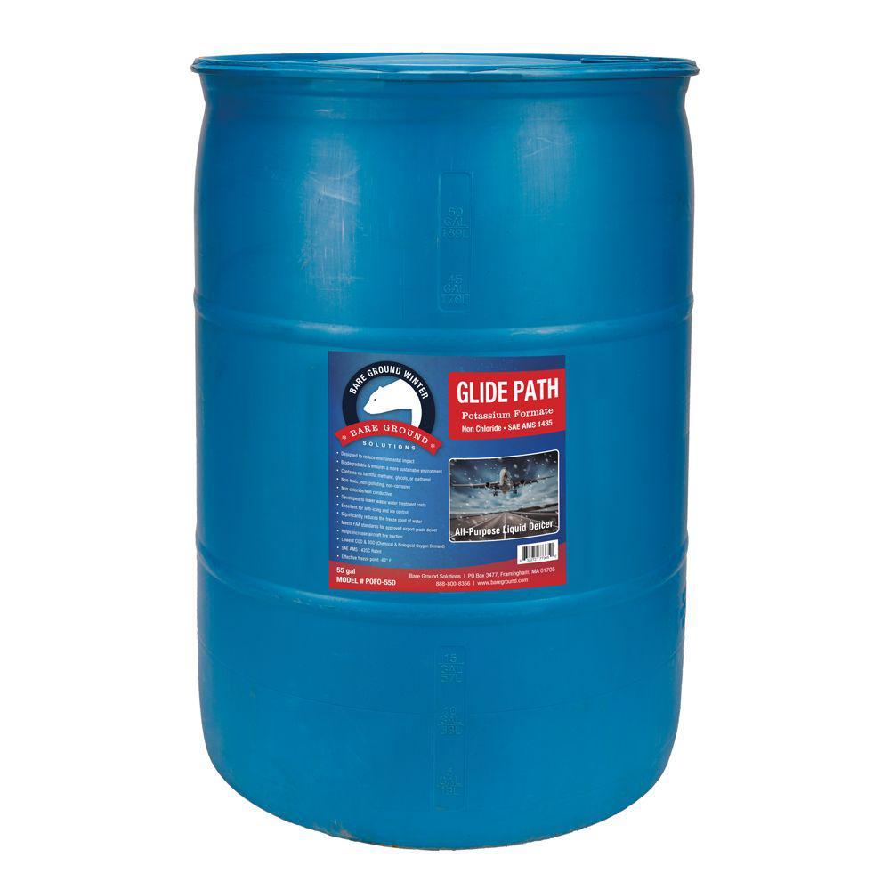 55 Gal. Drum Liquid Anti-Snow/De-Icer