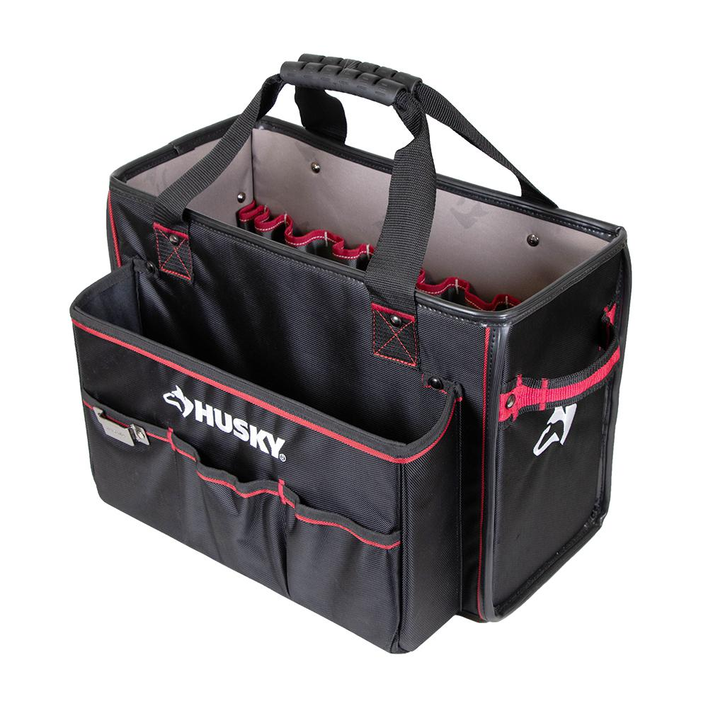 Husky Mobile Office And Tool Organizer Tote Review Her