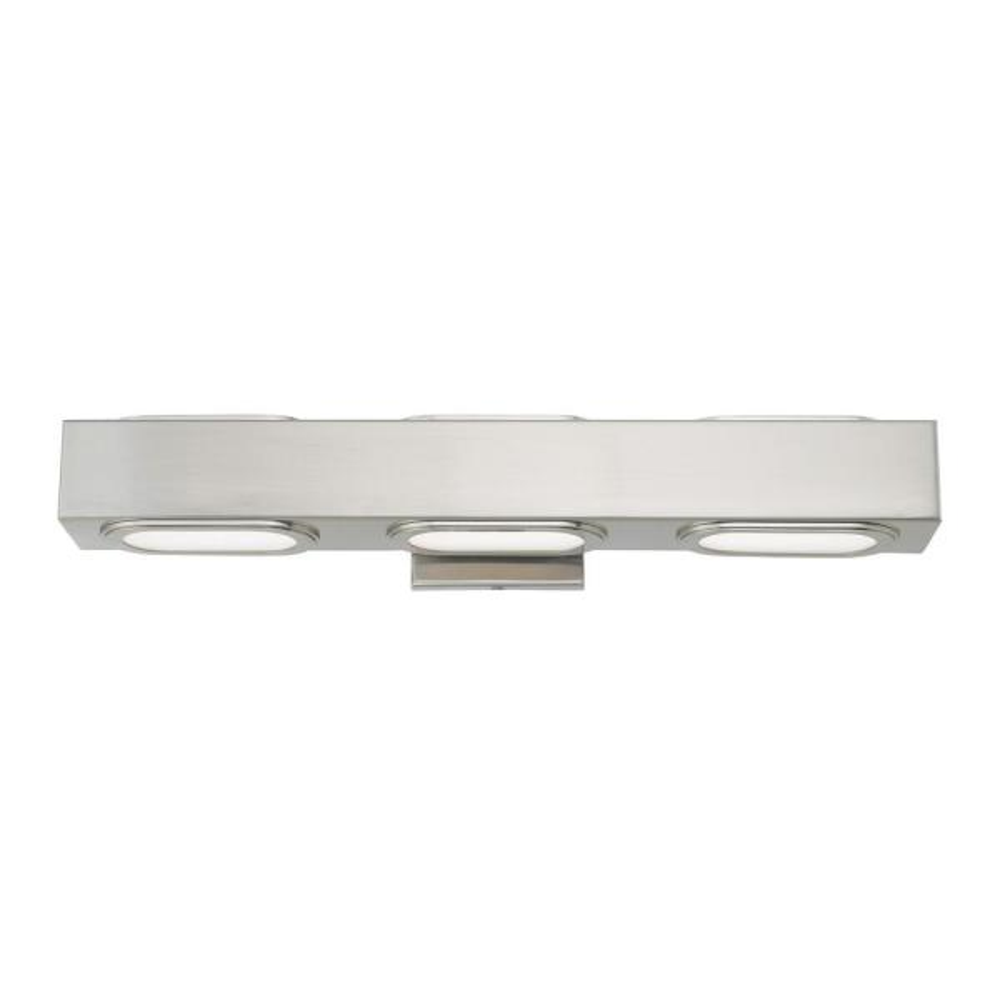 Kimball 4.75 in. Brushed Nickel LED Vanity Light Bar