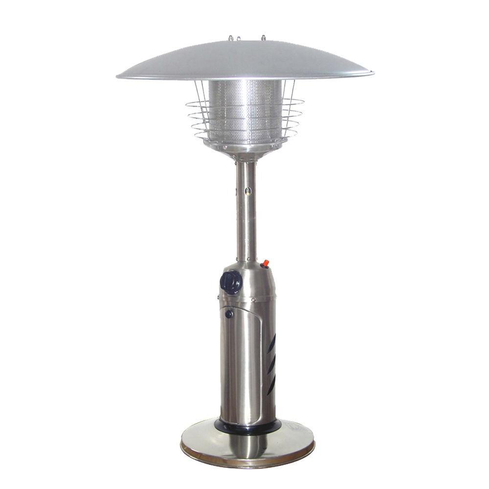 Az Patio Heaters 11 000 Btu Portable Stainless Steel Gas Heater