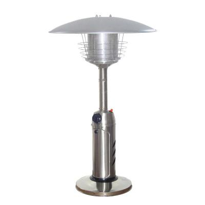 11,000 BTU Portable Stainless Steel Propane Patio Heater