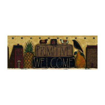 Best of Country Primitive Welcome Wallpaper Border