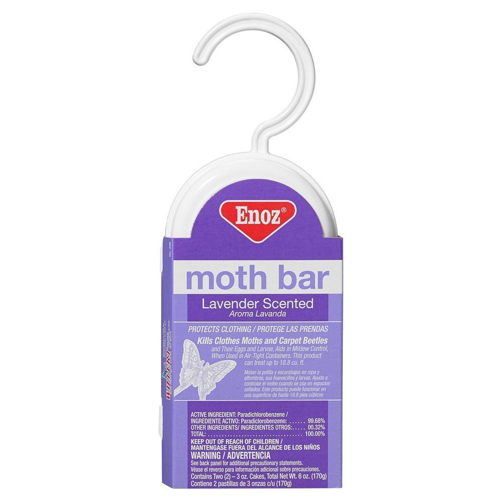 6 oz. Lavender Scented Moth Bar (3-Pack)