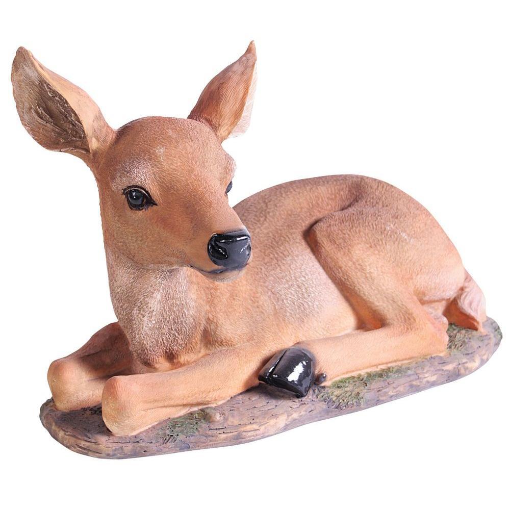 Kelkay Laying Fawn Statue