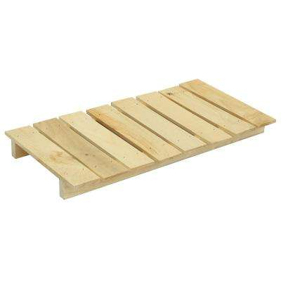 24 in. x 12 in. x 2 in. Large Wood Craft Pallet Unfinished