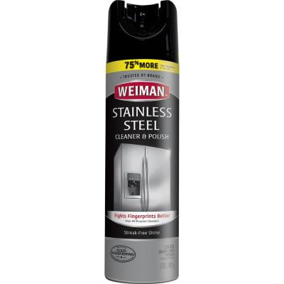 17 oz. Stainless Steel Cleaner and Polish Aerosol