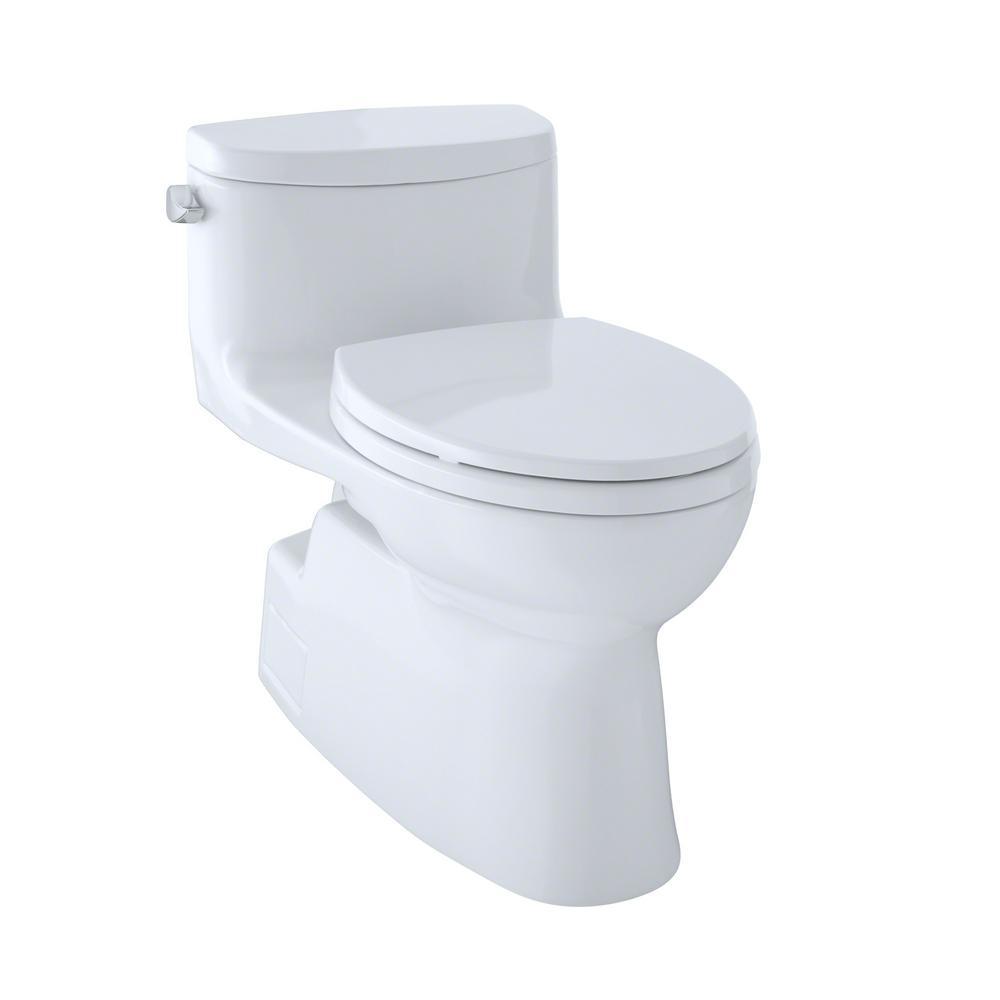 Toto Carolina Ii 1 Piece 1 28 Gpf Single Flush Elongated
