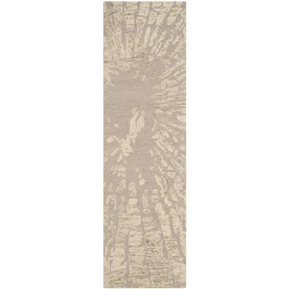 Bella Winter Taupe 2 ft. 3 in. x 8 ft. Rug