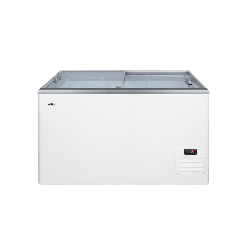 Summit Appliance 11.7 cu. ft. Manual Defrost Commercial Chest Freezer in White