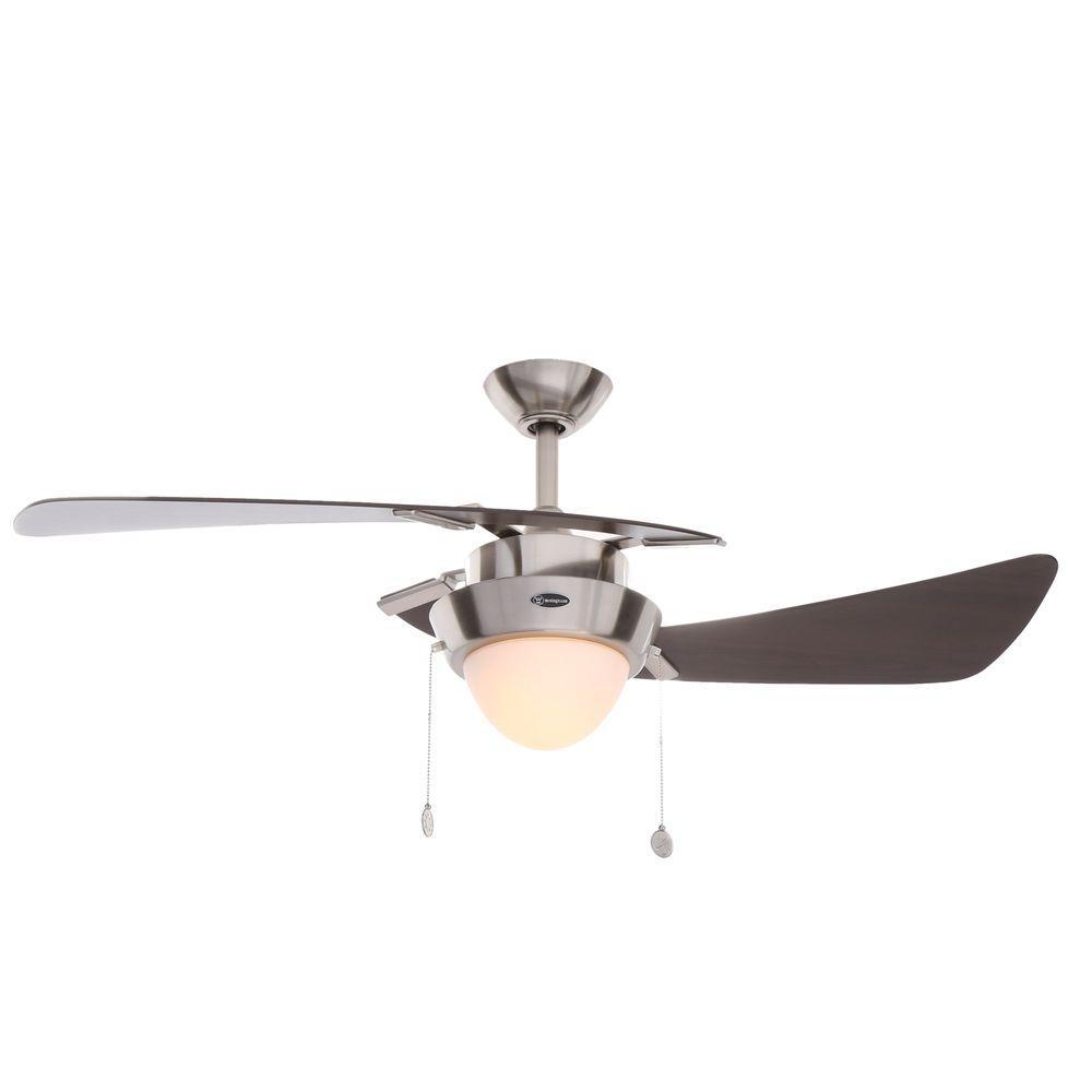 Harmony 48 in. Brushed Nickel Ceiling Fan