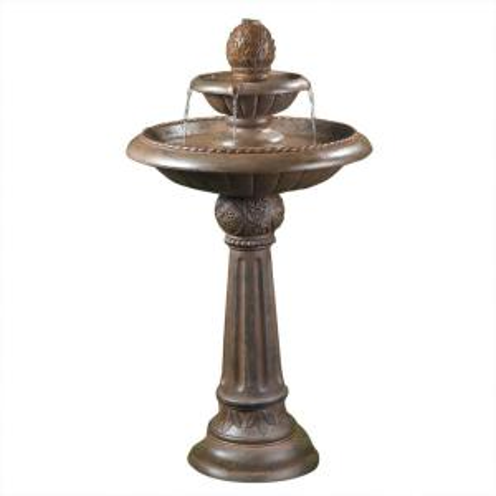 Fountain Cellar Ananas Pineapple Tier Outdoor Fountain by Fountain Cellar