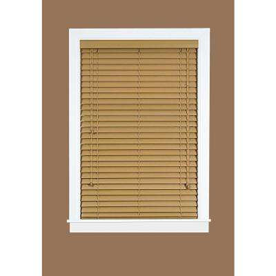2 in. Faux Wood Plantation Blind