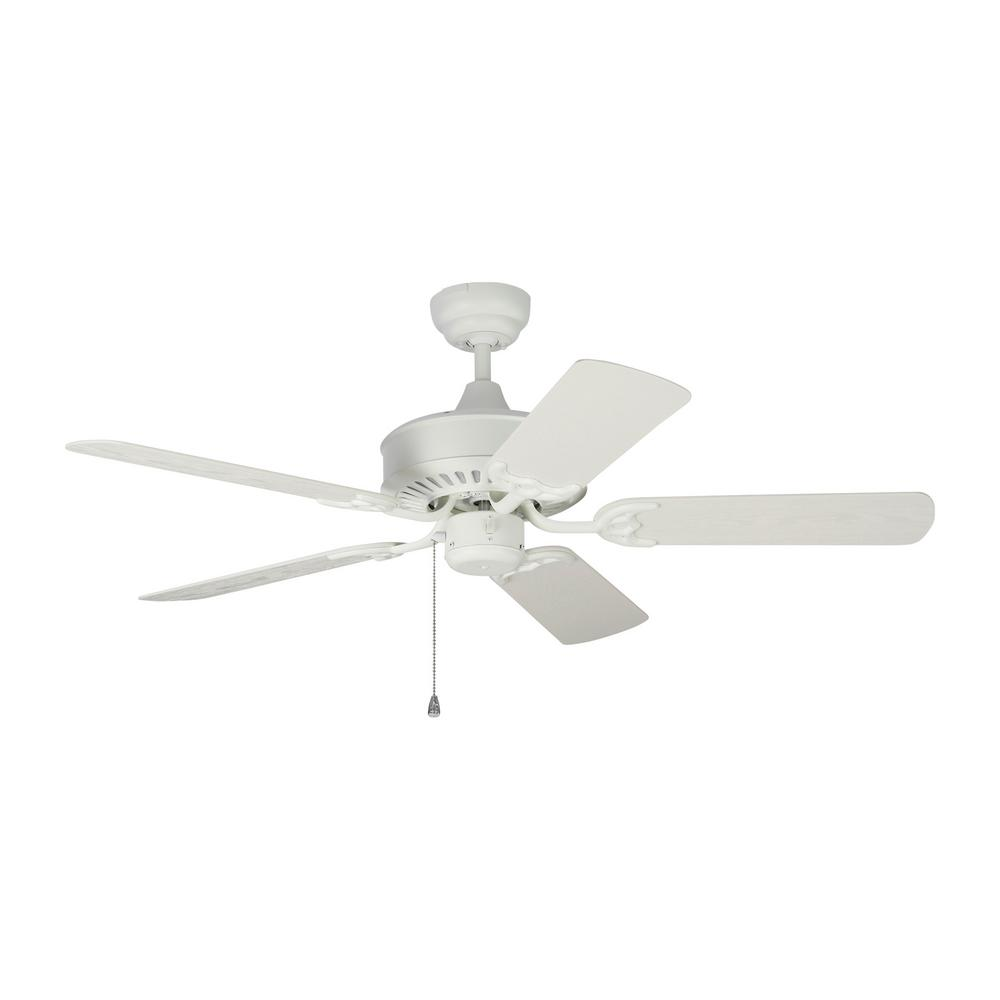 Monte Carlo Haven 44 in. Indoor/Outdoor Matte White Ceiling Fan was $143.2 now $88.3 (38.0% off)