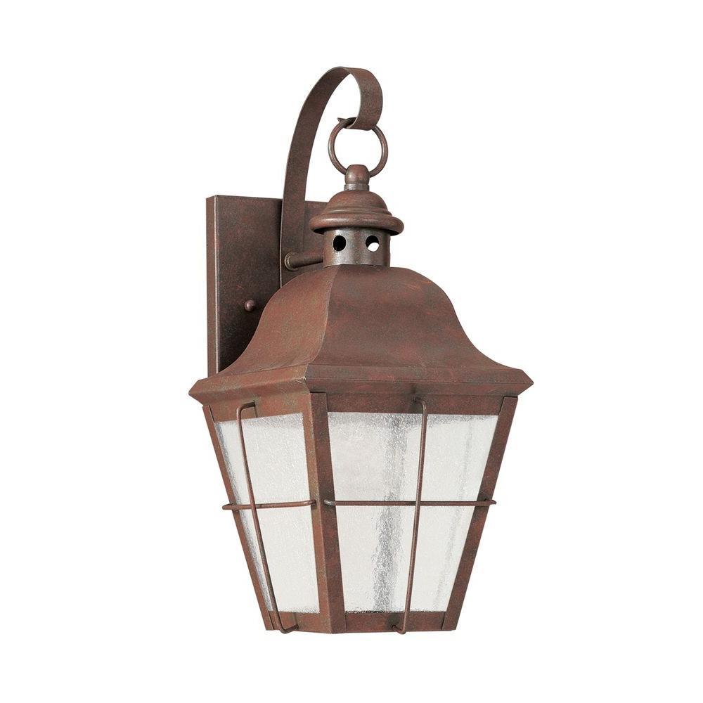 Chatham Weathered Copper Wall Lantern