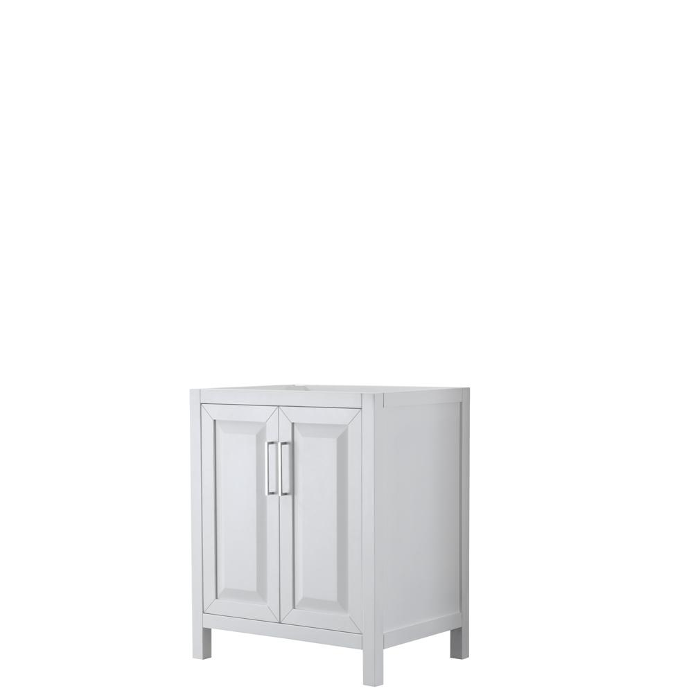 Daria 29 in. Single Bathroom Vanity Cabinet Only in White