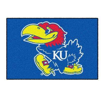 University of Kansas 19 in. x 30 in. Accent Rug