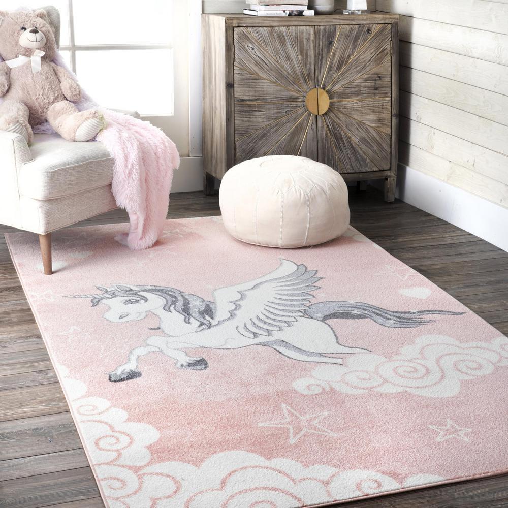 Elsa And Anna Frozen 4 Kids Carpet Patterned Non-Slip Floor Carpet 80x150 cm