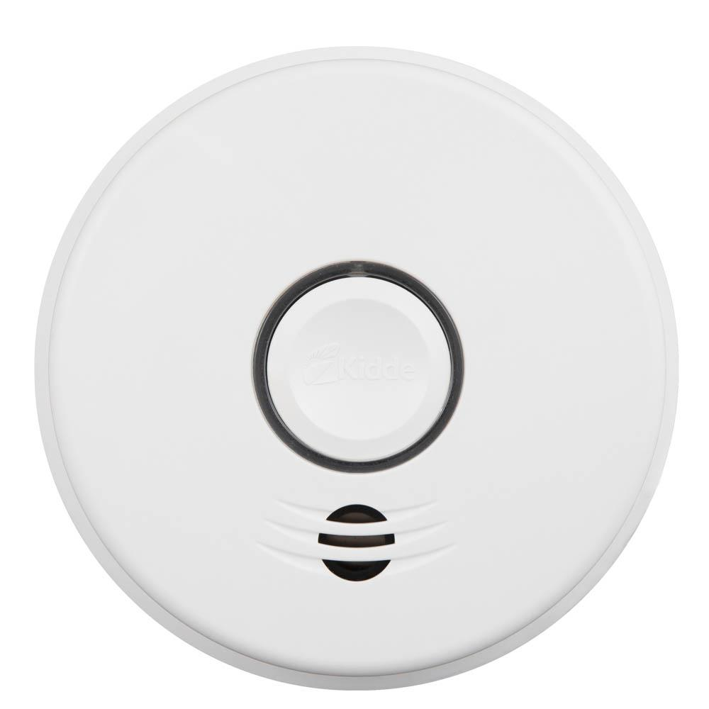 Hardwire Smoke and Carbon Monoxide Detector with 10-Year Battery Backup and