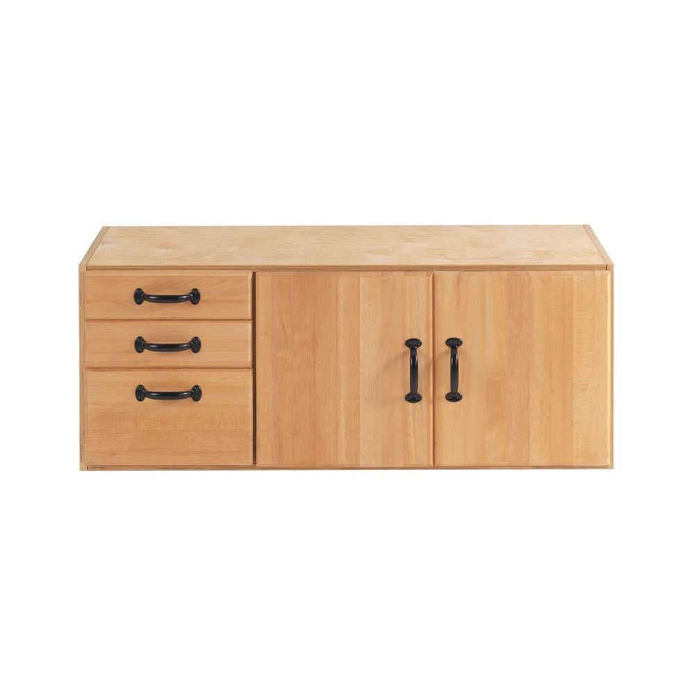Sjobergs Elite or Duo 41 in. x 16 in. Storage Module with 3-Drawers and 1-Cupboard