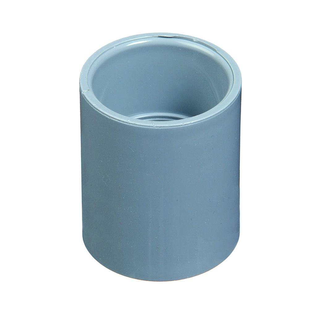 Carlon 2-1/2 in. PVC Standard Coupling (Case of 7)