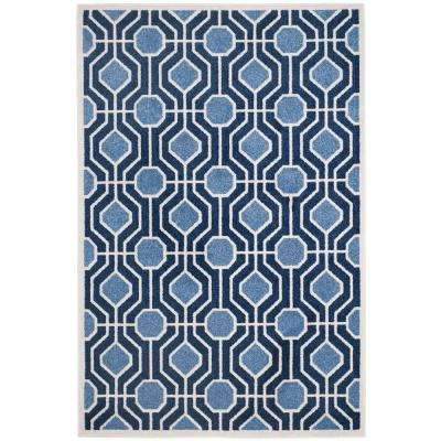 3 X 5 - Blue - Outdoor Rugs - Rugs - The Home Depot