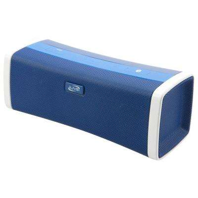 Portable Bluetooth Speaker with Rechargeable Battery, Blue