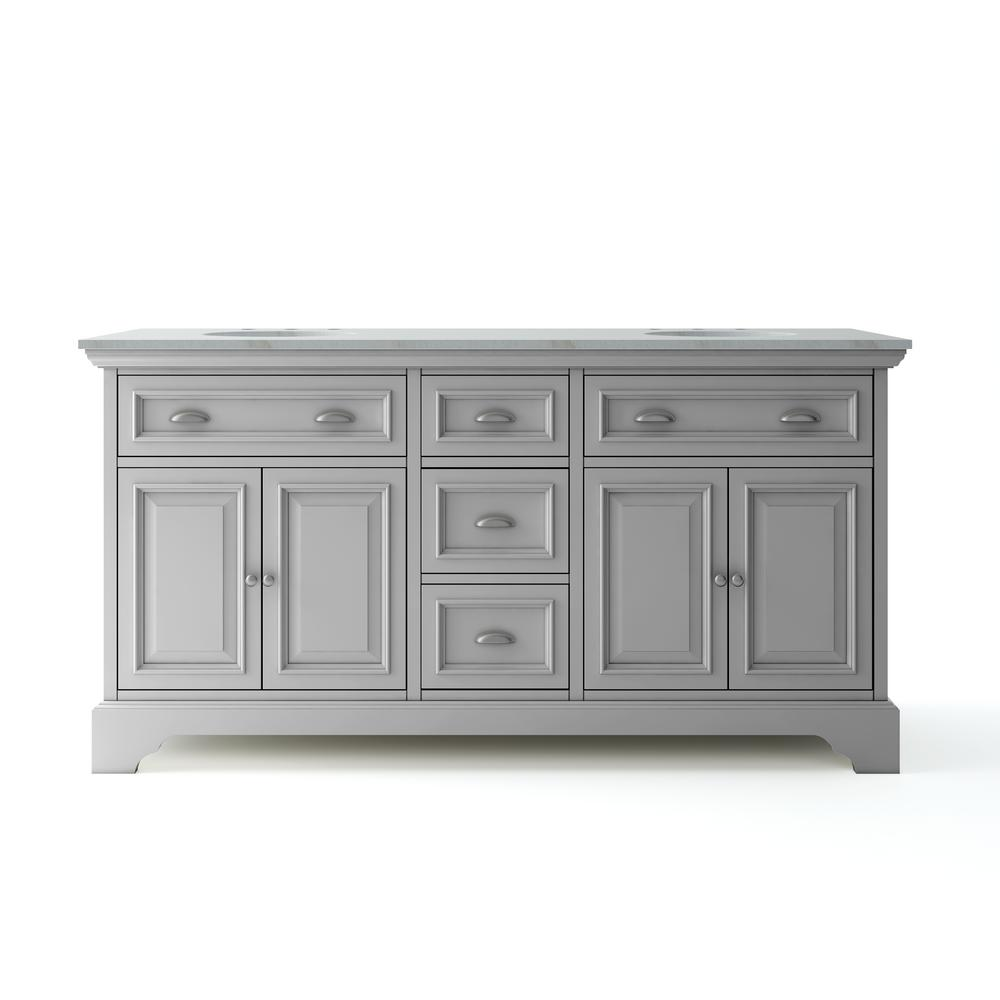 Home Decorators Collection Sa 67 In W X 21 5 D Vanity Dove