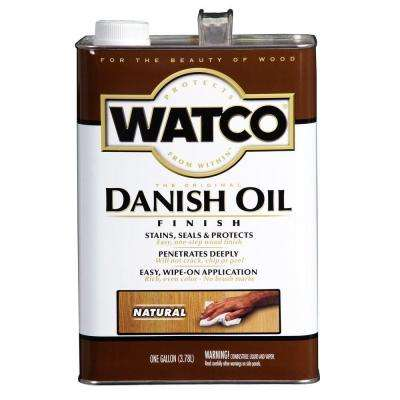1 gal. Natural 275 VOC Danish Oil (2-Pack)