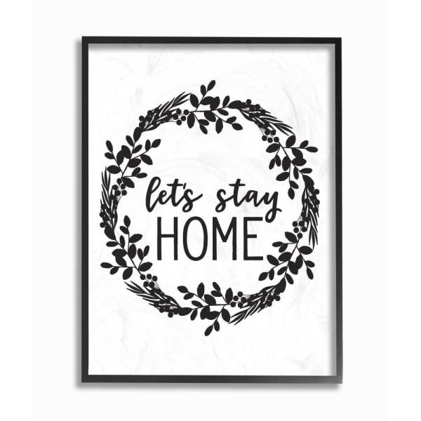 The Stupell Home Decor Collection 11 in. x 14 in. ''Let's