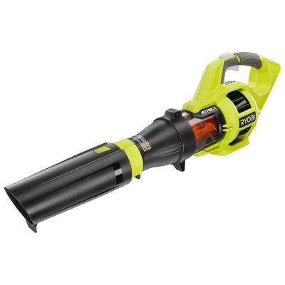 110 MPH 480 CFM Variable-Speed Turbo 40-Volt Lithium-ion Cordless Jet Fan Leaf Blower - Battery and Charger Not Included