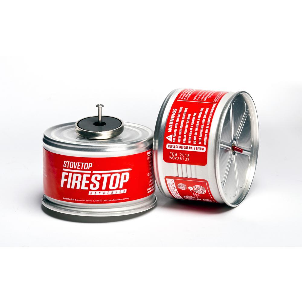 Rangehood Cooktop Fire Suppressor (Pair)