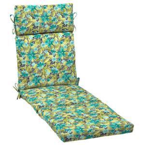 H&ton Bay Callista Outdoor Chaise Cushion-JF10853B-9D2 - The Home Depot  sc 1 st  Home Depot : hampton bay chaise lounge cushions - Sectionals, Sofas & Couches