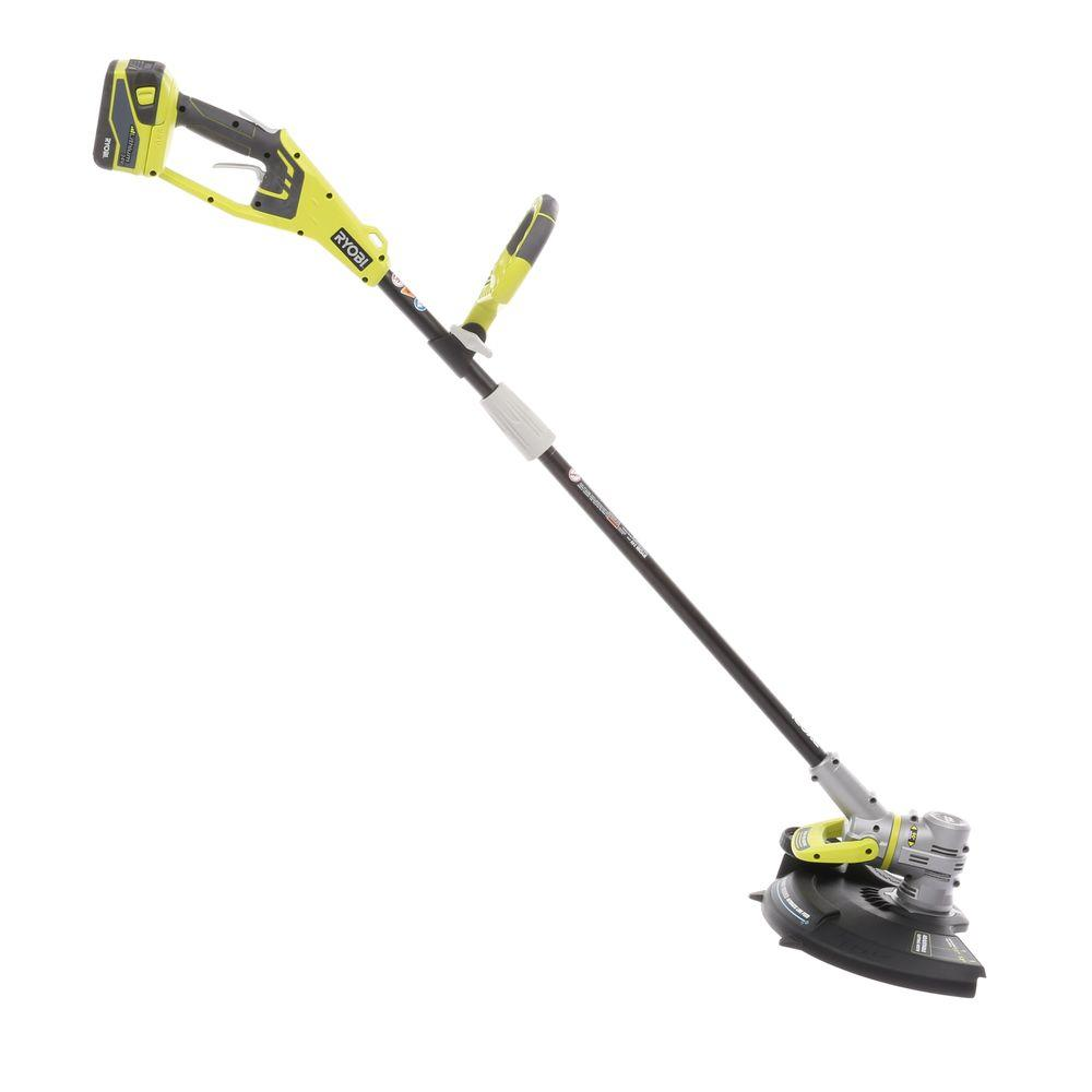 Ryobi 24-Volt Lithium-ion Cordless String Trimmer/Edger - 2.6 Ah Battery and Charger Included