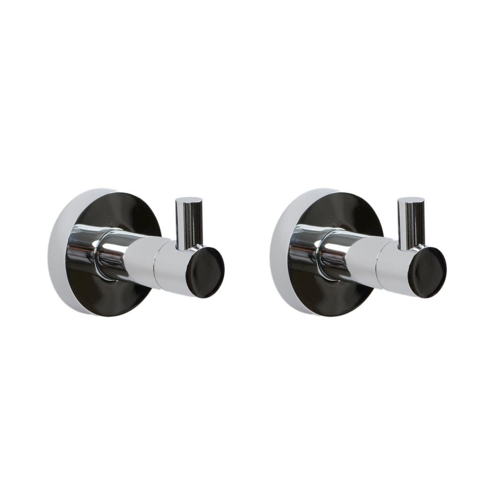 Venezia 2-Piece Bath Hardware Set in Polished Chrome