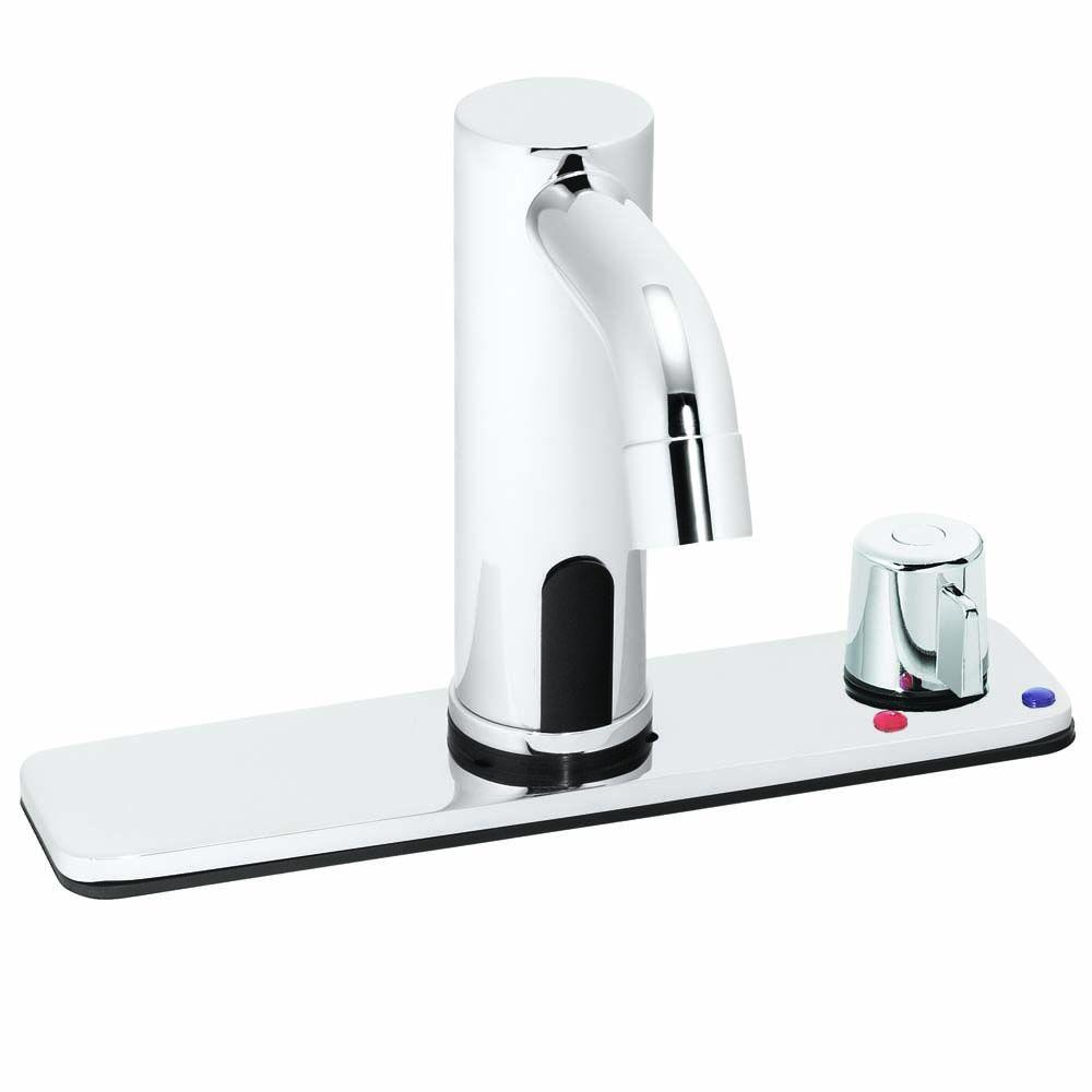 Speakman Sensorflo Battery Powered Touchless Lavatory Faucet in Polished Chrome-DISCONTINUED
